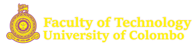 Faculty of Technology, University of Colombo | Just another WordPress site