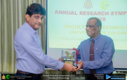 Annual Research Symposium of the Faculty of Technology 2019