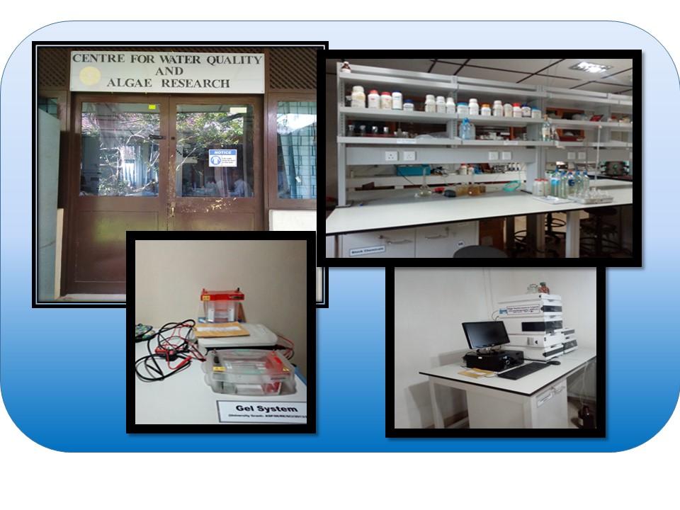 Visit to Center for Water Quality and Algae Research at University of Sri Jayewardenepura