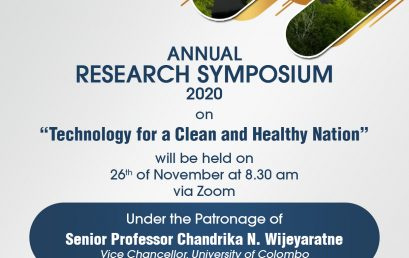 ANNUAL RESEARCH SYMPOSIUM 2020 | FACULTY OF TECHNOLOGY