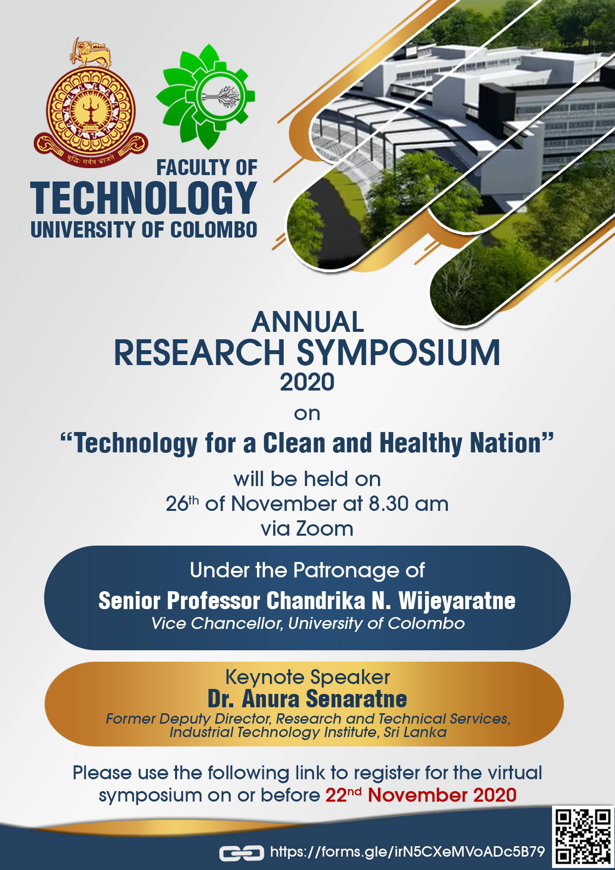 ANNUAL RESEARCH SYMPOSIUM 2020   FACULTY OF TECHNOLOGY